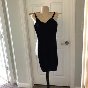 BNWT Navy blue cami dress